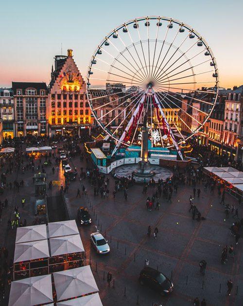 Place de la grande roue de Lille