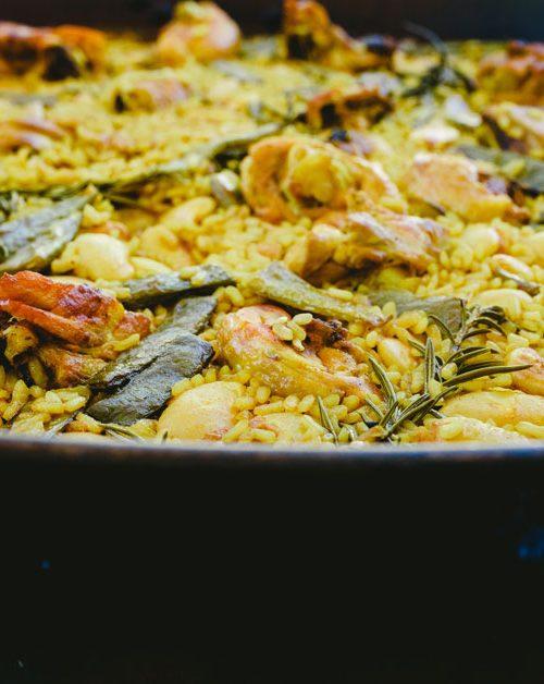 L'authentique paella valencienne